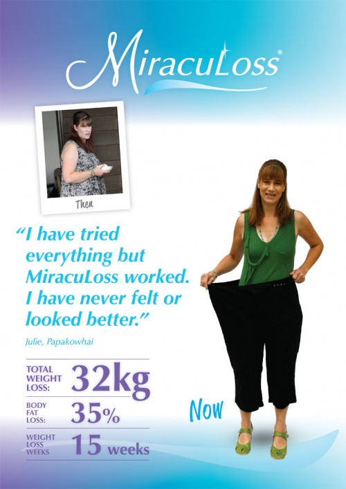 MiracuLoss Weightloss Julie